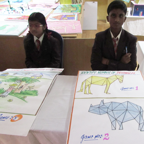 Aditya school exhibition