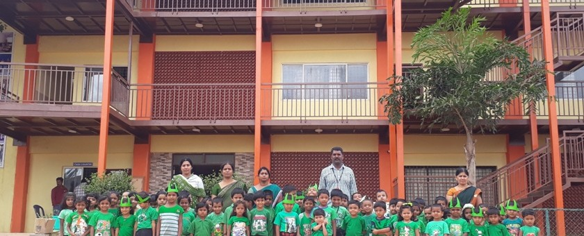 Green Day for the academic year 2017-18 has been organized at ANPS.