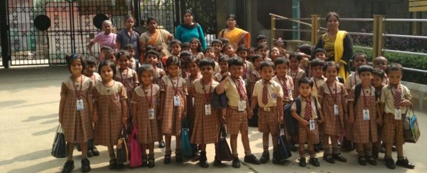 School Picnic was organized for LKG,UKG and Nursery Children at JP Park.