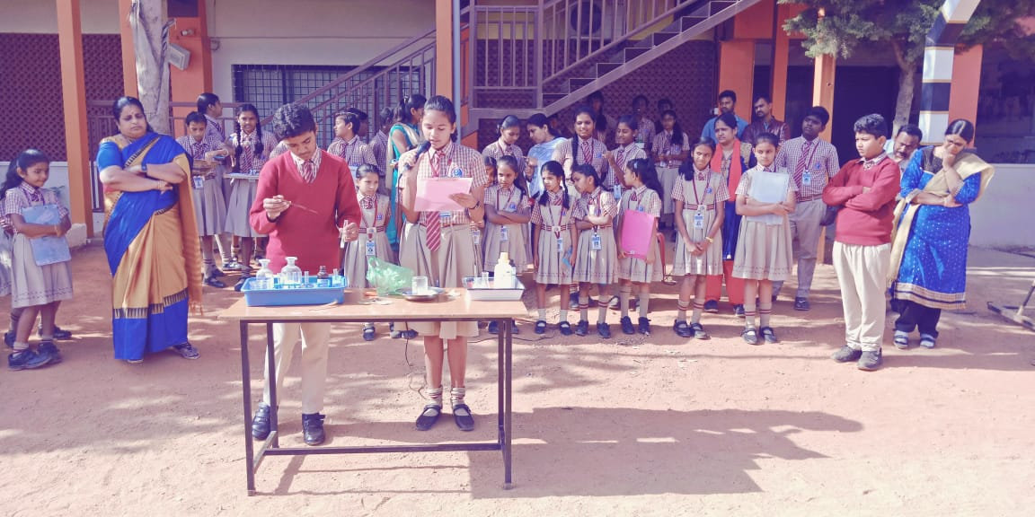 National Science Day 2019 special assembly is conducted in our School today remembering our great scientist Sir C.V.Rman and his disovery. Children have demonstrated few experiments to show their inquisitiveness in learning science.