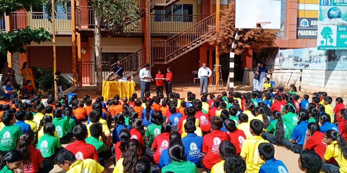 Magic Show was conducted during Special Assembly. It was a Special  Moment for the children as they enjoyed every moment of the day.