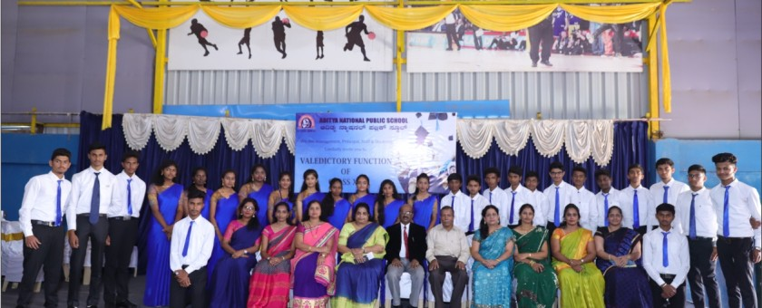valedictory function was held on March 7.2020.